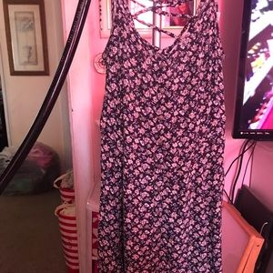 Small American Eagle Flower Summer Dress
